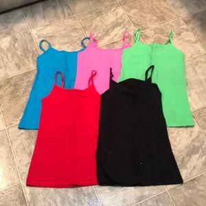 Girls camisoles